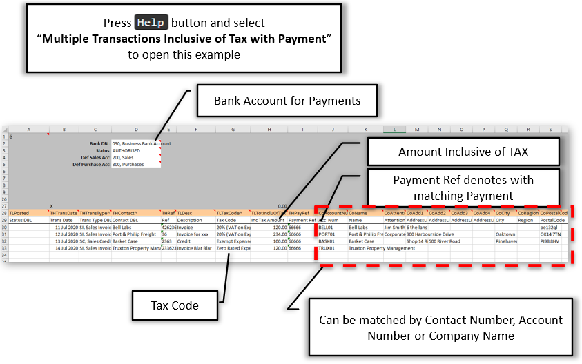 Multiple Transactions with Payments + Contact Update/Create